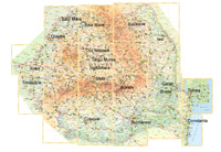 románia autó térkép
